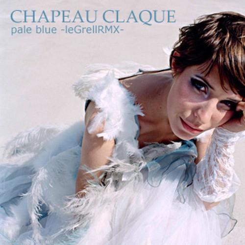 CHAPEAU CLAQUE pale blue -leGrellRMX-