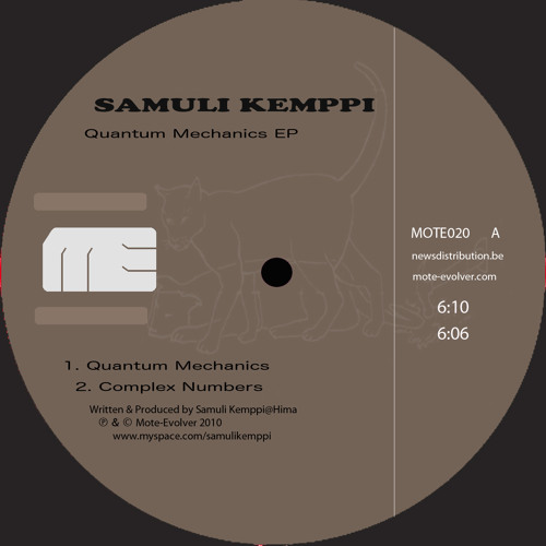 Mote020 :: Samuli Kemppi - Quantum Mechanics
