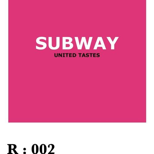 United Tastes - Subway (original mix)