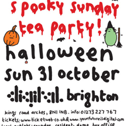 Mr Scruff live DJ mix from Brighton Digital, Sunday 31 October 2010