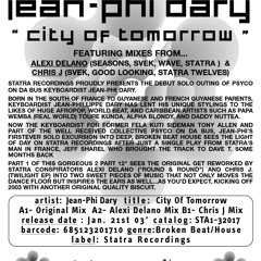 Jean Phi Dary- City Of  Tomorrow (Chris J Mix)