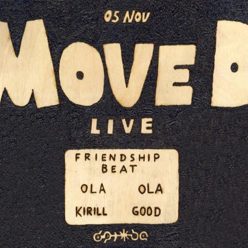 move d live @ druzhba bar, spb 11-2010