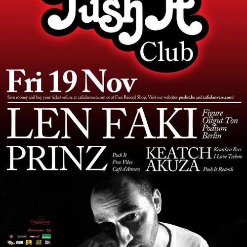 Len Faki @ Samson 2010 Have a Taste what To Expect @ Push it Club