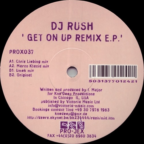 [Free Download] Rush - Get On Up (Rydel's Quick Mix Fix)