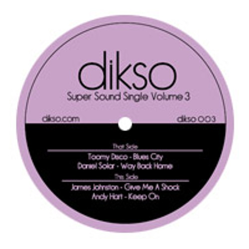 DIKSO003 - Daniel Solar - Way Back Home [Snippet]