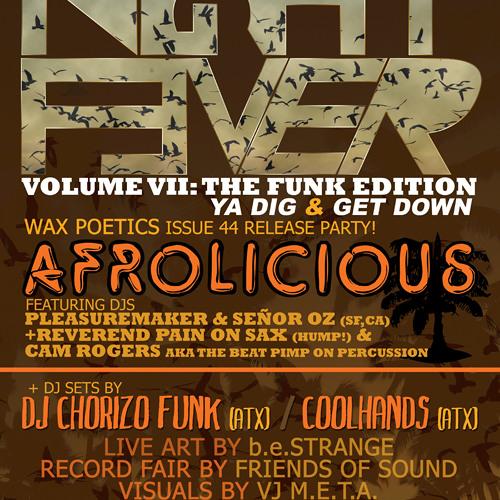 DJ Chorizo Funk- Live @ Night Fever! V.7 (11.18.10)