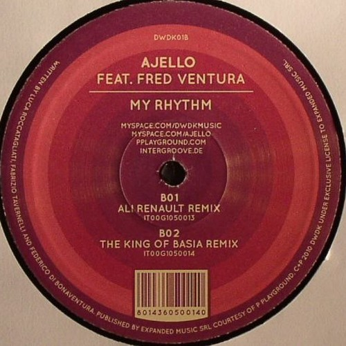 AJELLO ft. FRED VENTURA - MY RHYTHM (TKOB REMIX)