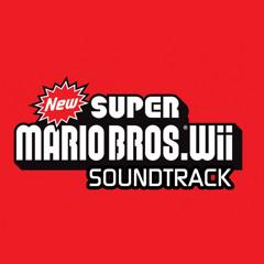 New Super Mario Bros Wii - Main Menu