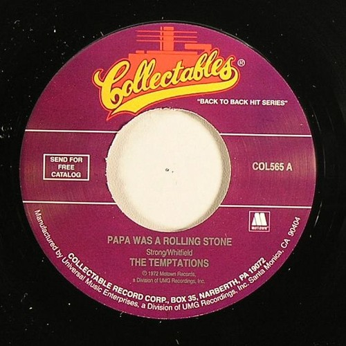 The Temptations - Papa Was A Rolling Stone - Kay's Mama Funkin Edit