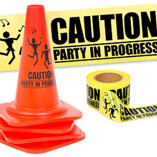 Techno & Minimal Mixes. Caution Party In Progress