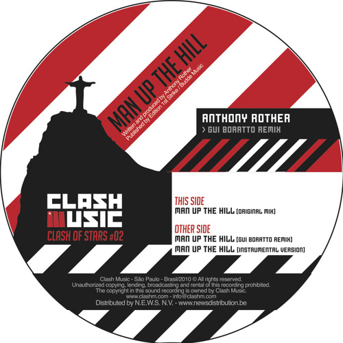 CM0002 - Clash Of Stars #2 - Anthony Rother - Man Up The Hill - Gui Boratto Remix