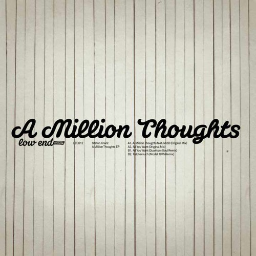 Stefan Kranz feat. Mizzi – A Million Thoughts (Original Mix)