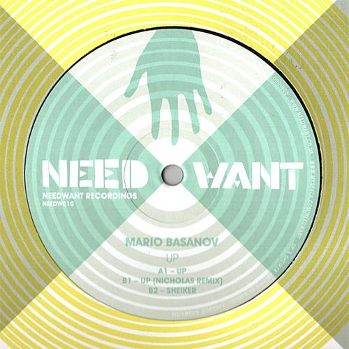 "NEEDW010 - Mario Basanov - ""Up"" (Nicholas Remix)"