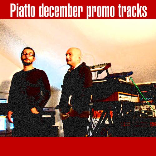 Piatto Promo Tracks December 2010