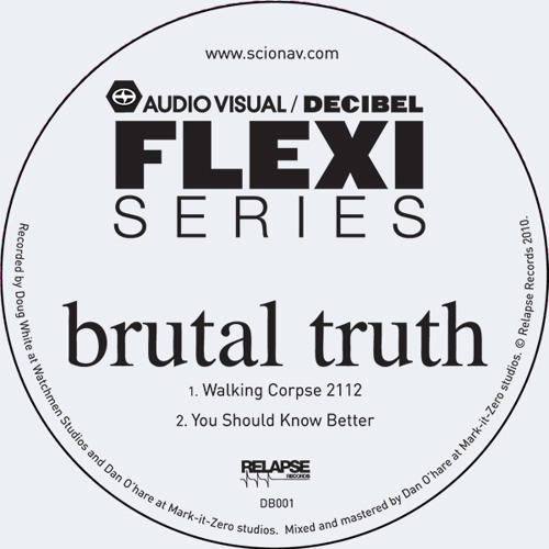 Brutal Truth - You Should Know Better