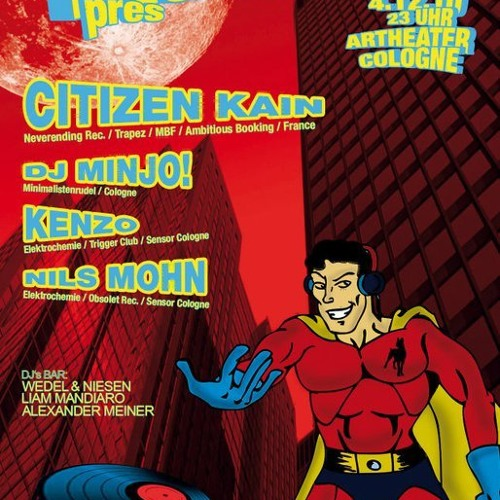 CITIZEN KAIN - Dj set @ ARTHEATER CLUB (04.12.2010 Cologne - Germany)