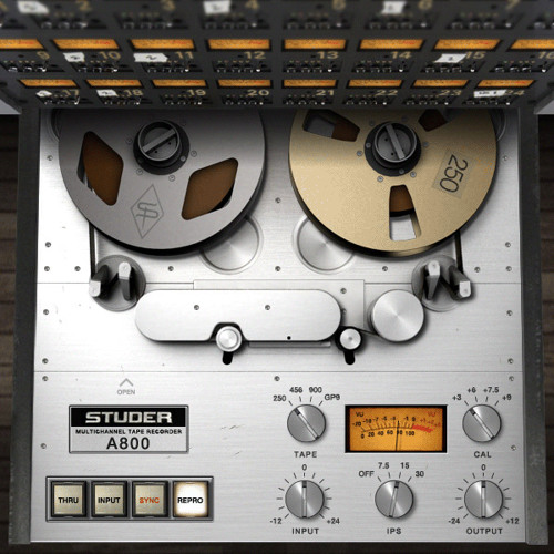 UAD Studer A800 Quick Before & After