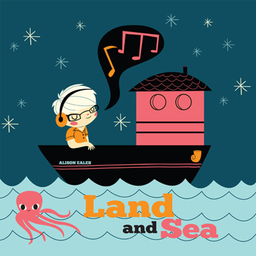 "Alison Eales - ""Land and Sea"" - ePop011 - digital single"