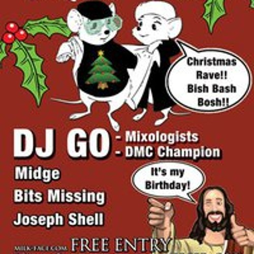 midge - live @ milk face - 4th december 2010 - dirty dirty house music