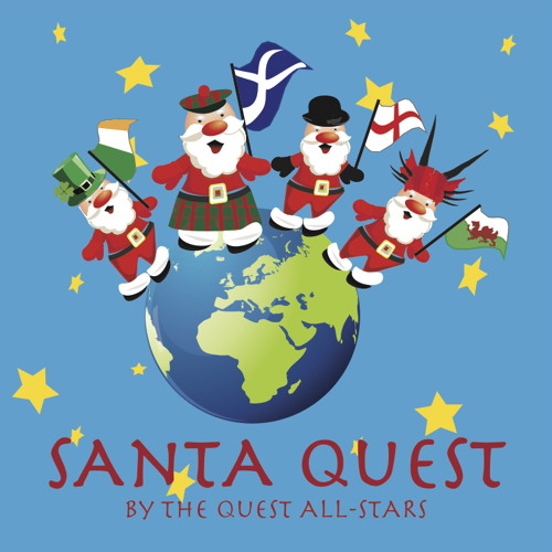 Santa's From England by The English Quest All-Stars featuring Chilly Allen