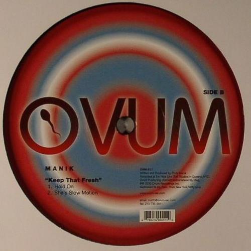 MANIK- She's Slow Motion (Original Mix) [Ovum] B2.