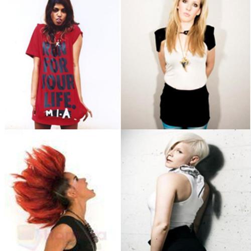 Starry Eyed & Indestructible (ft. MIA, Ellie Goulding, Eva Simons, Robyn, Temper Trap)