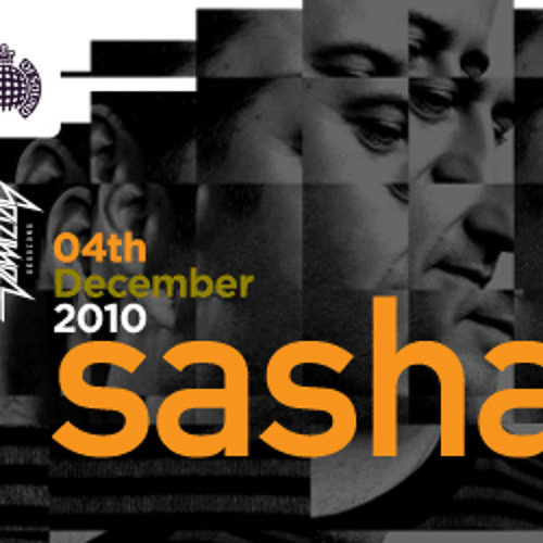 Sasha @ Ministry Of Sound 4/12/10