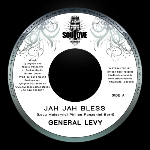 General Levy - Jah Jah Bless