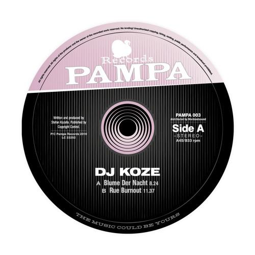 PAMPA003 - DJ Koze - Rue Burnout