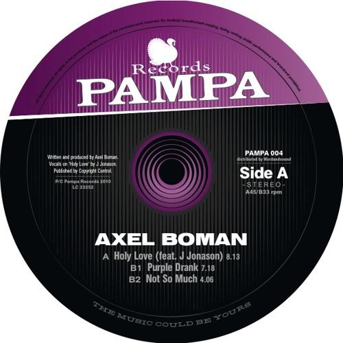 PAMPA004 - Axel Boman - Holy Love
