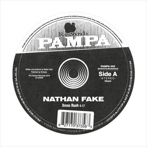 PAMPA005 - Nathan Fake / DJ Koze - Xmas Rush / Mi Cyaan Believe It