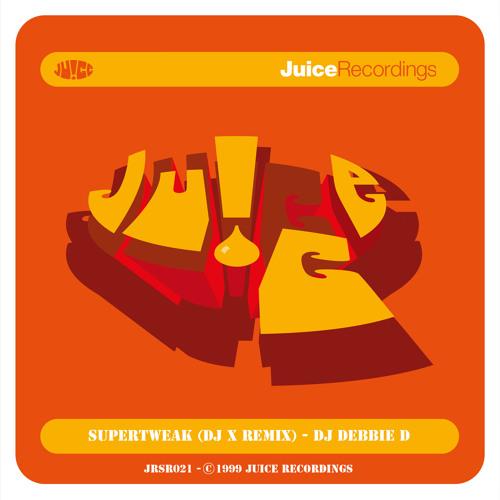 JRSR021, Supertweak (DJ X Remix), DJ Debbie D