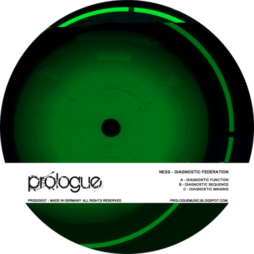 PRGDIG007:01 - Ness - Diagnostic Function: 20.01.2011 Beatport exclusive