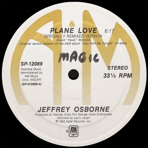 Jeffrey Osborne - Plane love (Moplen edit)