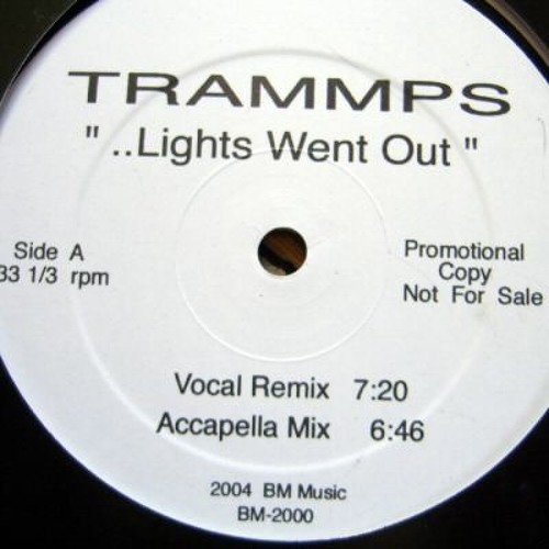 The Trammps - The night the lights went out (Moplen edit #1)
