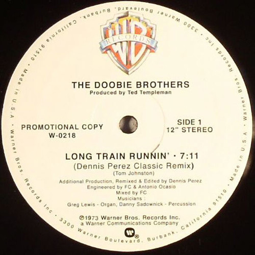 The Doobie Brothers - Long train running (Moplen edit of Dennis Perez rmx)