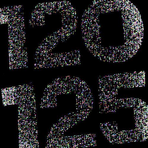 120 to 125