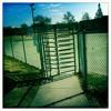 Revolving metal gate-20percent