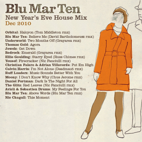 Blu Mar Ten - New Year's Eve House Mix (Dec 2010)