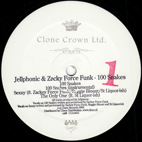 CCrown01 - Jellphonic feat. Zacky Force Funk - 100 Snakes (Vox)