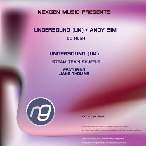 NXG011D - Undersound - Steam Train Shuffle Feat. Jane Thomas (BUY NOW FROM THE NEXGEN MUSIC STORE)