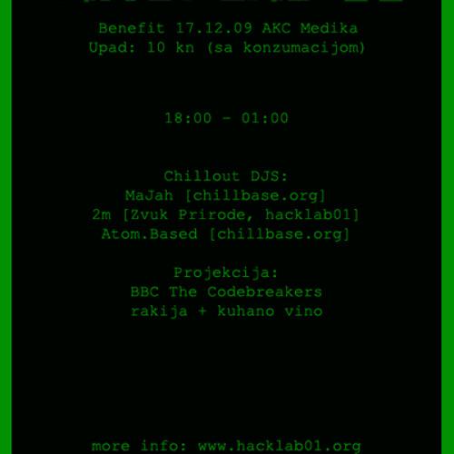 MaJah - Wide Awake - Hacklab benefit selection, Dec 2009