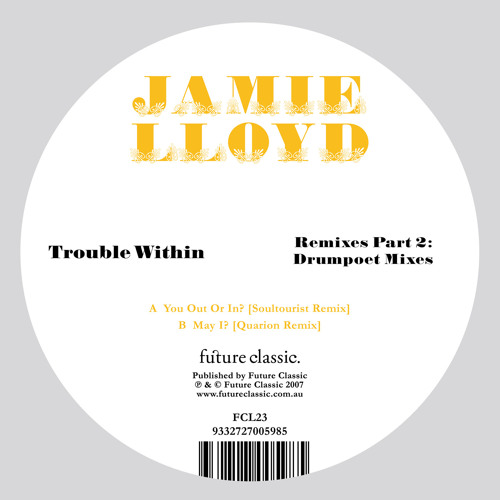 Jamie Lloyd - May I ?  (Quarion Morning Rave Remix)