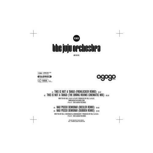 The Juju Orchestra - This Is Not A Tango (Frohlocker Remix)