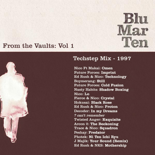 Blu Mar Ten - From the Vaults Vol 1 - Techstep Mix - 1997