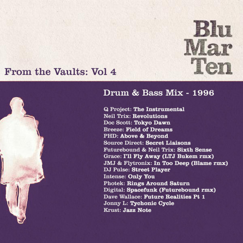 Blu Mar Ten - From the Vaults Vol 4 - Drum & Bass Mix - 1996