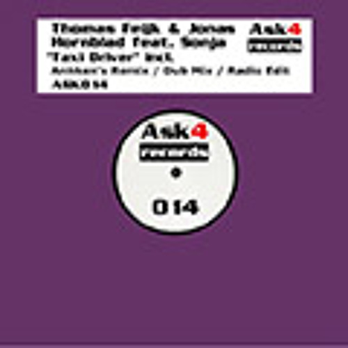 Thomas Feijk And Jonas Hornblad ft Sonja - Taxi Driver (Jonas Hornblad Vocal Mix) Preview