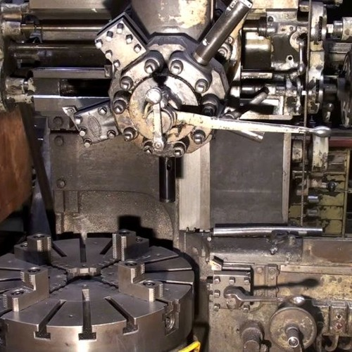 METAL MACHINES 115 Vertical Turret Lathe,Belt Drive,Power On,Wind Up,Power Off,Wind Down
