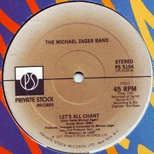 Michael Zager Band - Let's All Chant (Butch le Butch Body Re-work)