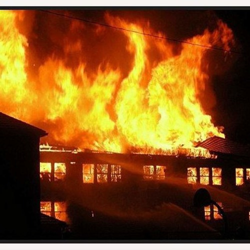 Fire at the Old School
